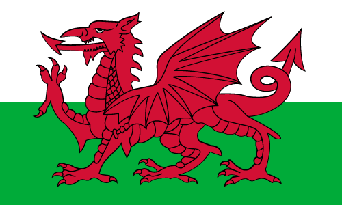 Download free vector flags of Wales at VectorFlags.com