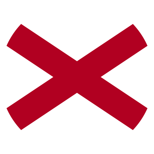 Download free vector flags of Alabama at VectorFlags.com
