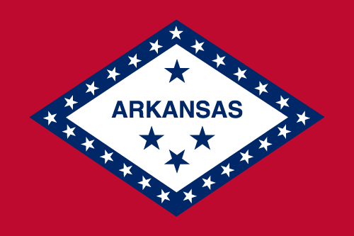Download free vector flags of Arkansas at VectorFlags.com