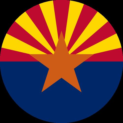 Download free vector flags of Arizona at VectorFlags.com