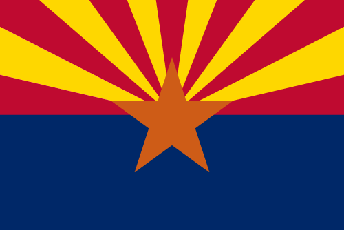 Download free vector flags of Arizona at VectorFlags.com