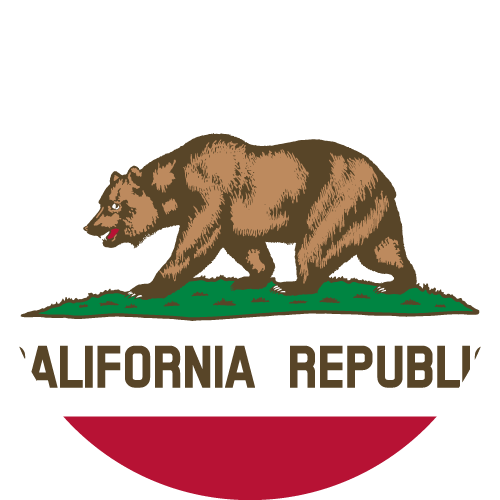 Download free vector flags of California at VectorFlags.com