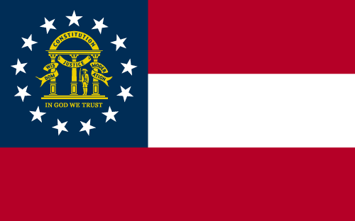 Download free vector flags of Georgia at VectorFlags.com
