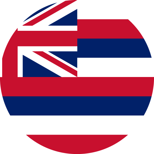 Download free vector flags of Hawaii at VectorFlags.com