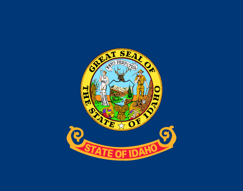 Download free vector flags of Idaho at VectorFlags.com