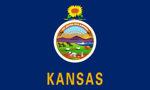 Download free vector flags of Kansas at VectorFlags.com
