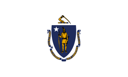 Download free vector flags of Massachusetts at VectorFlags.com