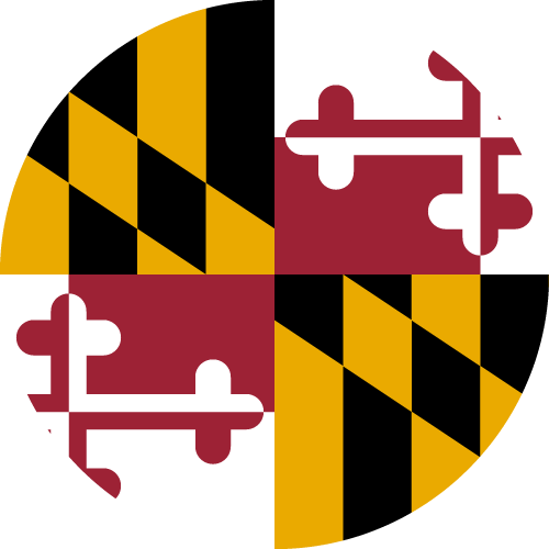 Download free vector flags of Maryland at VectorFlags.com
