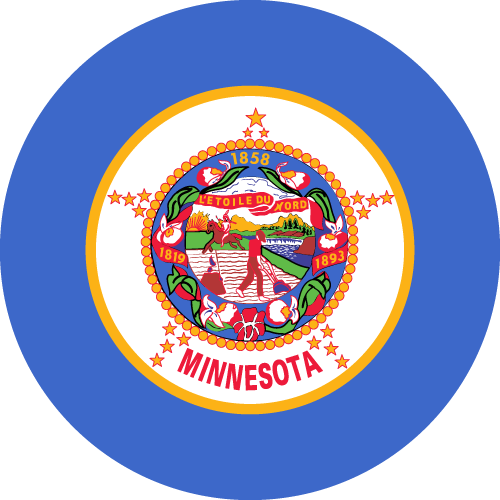 Download free vector flags of Minnesota at VectorFlags.com
