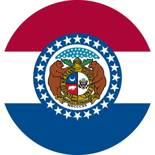 Download free vector flags of Missouri at VectorFlags.com