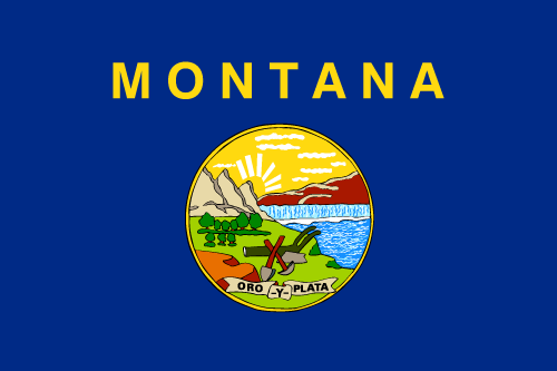 Download free vector flags of Montana at VectorFlags.com