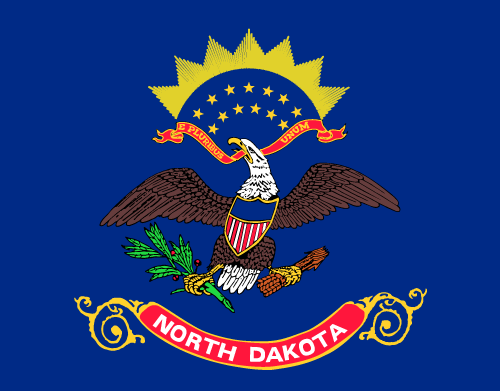 Download free vector flags of North Dakota at VectorFlags.com