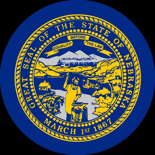 Download free vector flags of Nebraska at VectorFlags.com