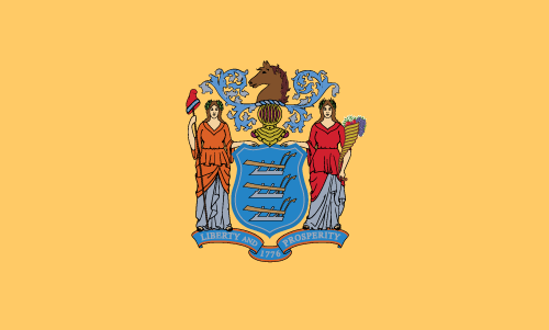 Download free vector flags of New Jersey at VectorFlags.com