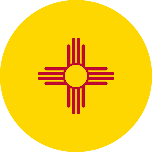 Download free vector flags of New Mexico at VectorFlags.com