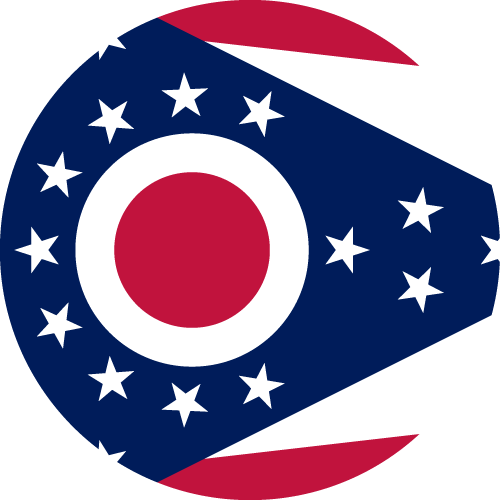 Download free vector flags of Ohio at VectorFlags.com