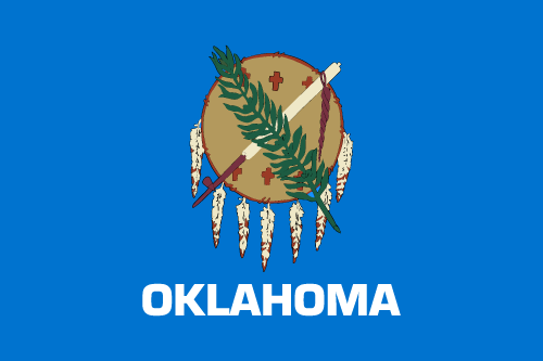 Download free vector flags of Oklahoma at VectorFlags.com