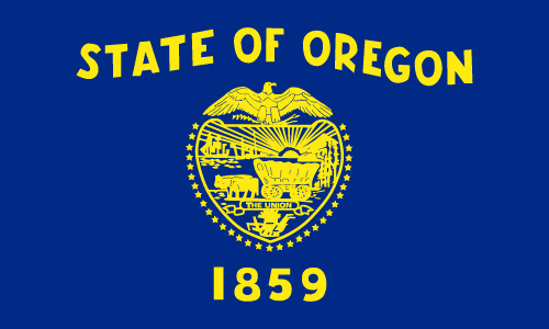 Download free vector flags of Oregon at VectorFlags.com