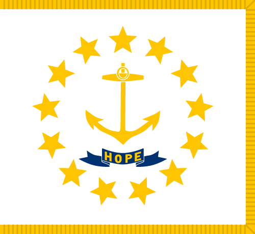 Download free vector flags of Rhode Island at VectorFlags.com