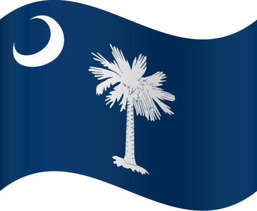 Free Vector Flag of us-sc-wave-01