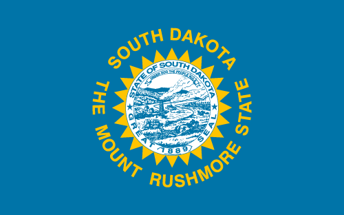 Download free vector flags of South Dakota at VectorFlags.com