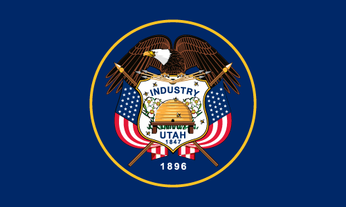 Download free vector flags of Utah at VectorFlags.com