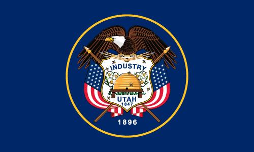 Download free vector flags of Utah at VectorFlags.com