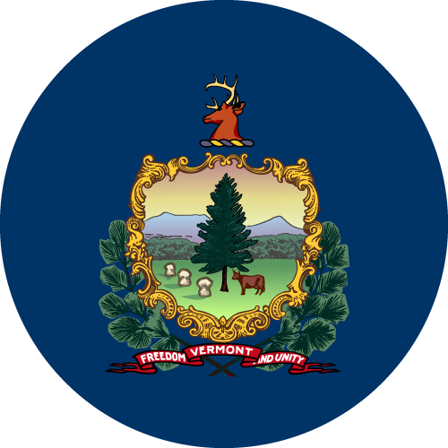 Download free vector flags of Vermont at VectorFlags.com