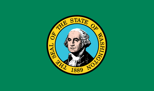 Download free vector flags of Washington at VectorFlags.com