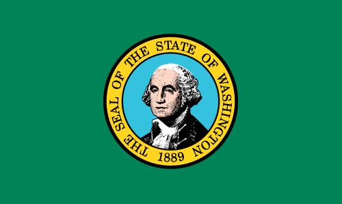 Download free vector flags of Washington at VectorFlags.com