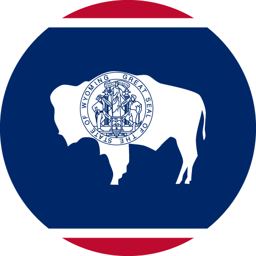 Download free vector flags of Wyoming at VectorFlags.com