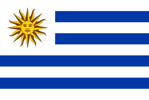Download free vector flags of Uruguay at VectorFlags.com