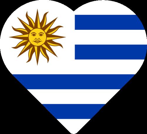 Free Vector Flag of uy-heart-01