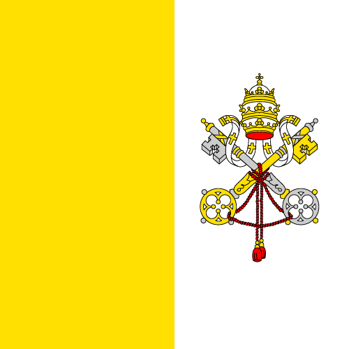 Download free vector flags of Vatican City at VectorFlags.com