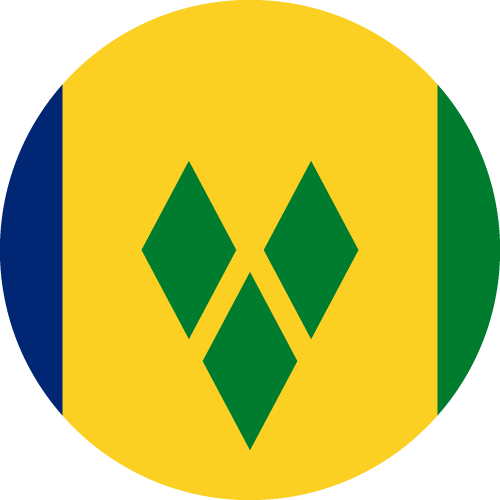 Download free vector flags of Saint Vincent and the Grenadines at VectorFlags.com