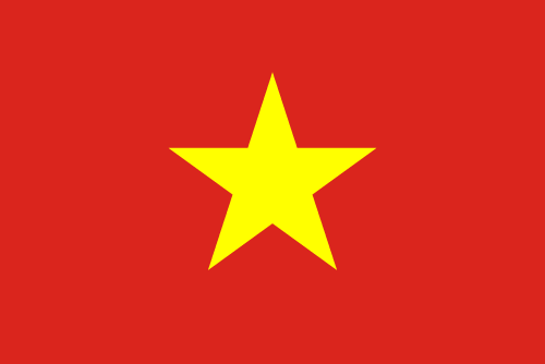 Download free vector flags of Vietnam at VectorFlags.com