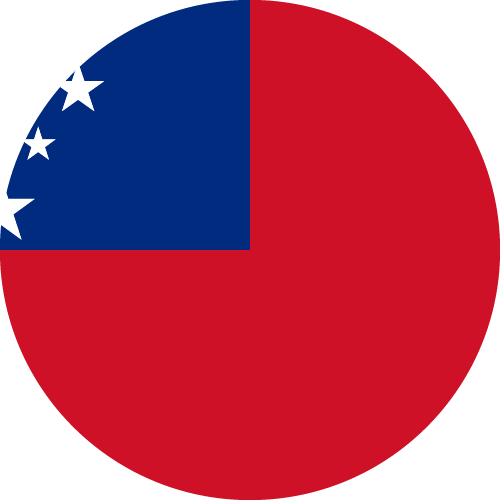 Download free vector flags of Samoa at VectorFlags.com