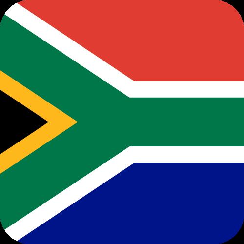 Free Vector Flag of za-button-01