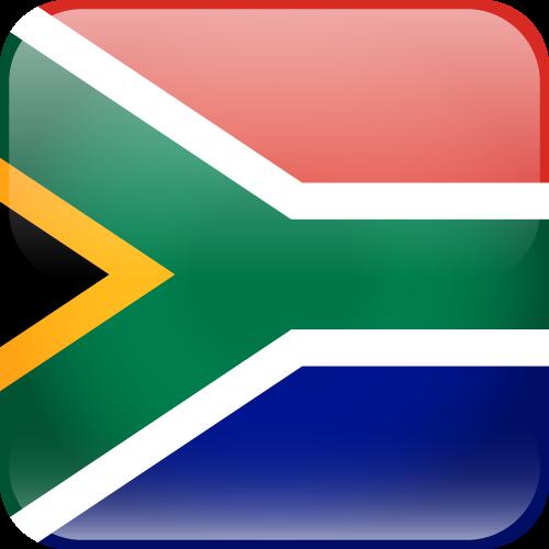 Free Vector Flag of za-cube-01