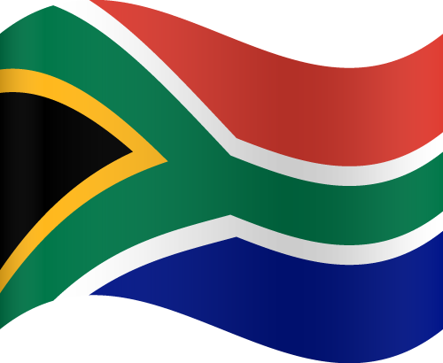 Free Vector Flag of za-wave-01