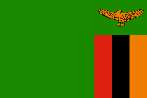 Download free vector flags of Zambia at VectorFlags.com