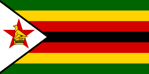 Download free vector flags of Zimbabwe at VectorFlags.com